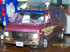 Sly1 Chevy Van complete2 by coonk9