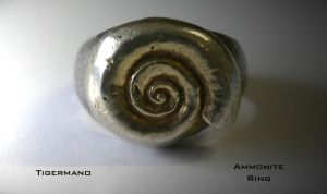 Ammonite Ring by Tigermano