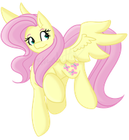 Fluttershy by Bluerainbow01