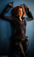 Black Widow Cosplay, Mavel's Avengers by Cosmic-Empress