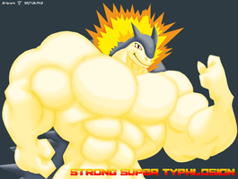 Typhlosion Triple Threat by UtopiaRayZexal