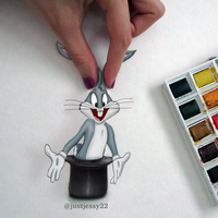 Bugs Bunny Drawing by jessyG22