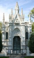 Mount Olivet Cemetery Mausoleum 213 by Falln-Stock