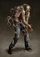 Parasite Zombie by IsraLlona