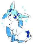sweet glaceon_PointCommission by pitch-black-crow