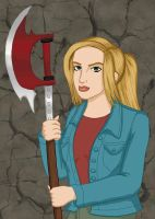 Buffy Summers by comicalclare