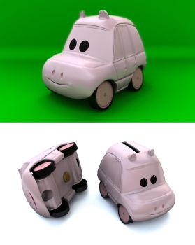 Piggy Car by cpt-smith