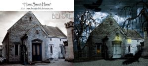 BEFORE - AFTER Home Sweet Home by the-night-bird