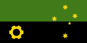 Greater Australia - flag by Neethis
