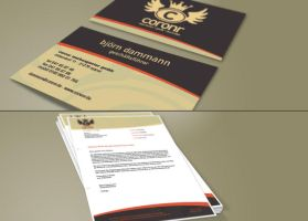 business card, -letter preview by BeJay