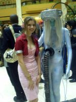 Aerith And Jenova - AWA 15 by RikkuxxInsanity