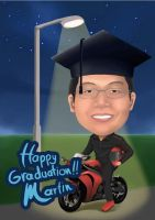 Graduation Gift Martin by heiccs