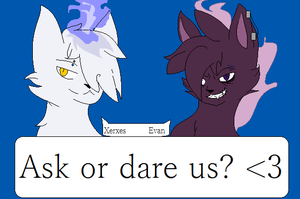 Ask Or Dare These Nerds by caseVIRUS