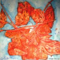 Leaf Painting by studio-toledo