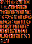 TheDraw Ansi Font 'Anniversary' by roy-sac