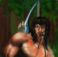 Rambo by DanloS