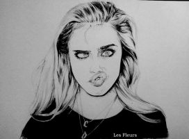 Cara Delevingne by IamLesFleurs