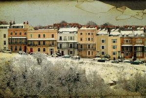 Clifton in snow 2 by katmary