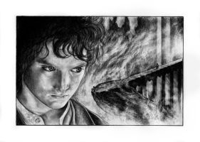 Frodo - Into the Mountain by SmeaGolllum