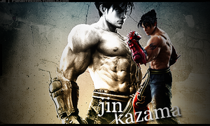 Jin Kazama... by darkdhalia