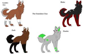 The Outsiders Clan by pokemonbreeder1