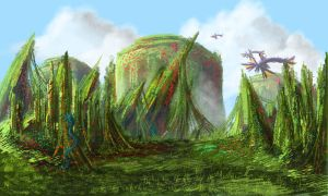 Fantasy Landscape?... by Darkstar-SD