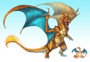 Realistic Pokemon: Charizard