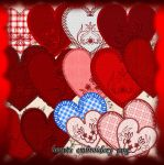 Hearts Embroidery 34h1884 by roula33