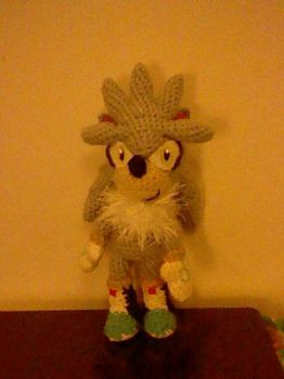 Silver the Hedgehog Plushie by Milayou