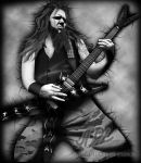 Dimebag black and white by 71ADL17