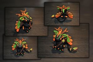 Woodland Guardian Dragon by KirstenBerryCrafts