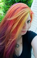 Sunset Hair by lizzys-photos