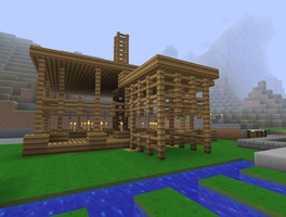 how to build a fence in minecratft