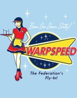 Warpspeed Federation Fly In by ninjaink