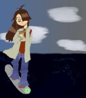 Tally Hoverboarding by XxSillyGirlxX