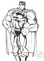 Superman Inked by menace-ink