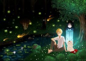 Natsume's Book of Friends by chizi