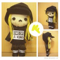 Gdragon One of a kind Plushie by kflows