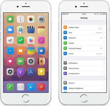 Zanilla iOS8 supplement by nienque