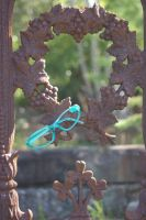 glasses cemetery by bunnyolove
