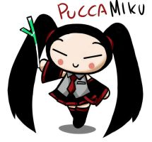 PUCCA MIKU by GaruGiroSonicShadow