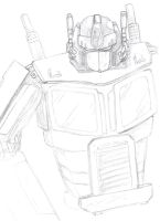My Optimus Prime by FactionFighter