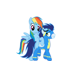 Soarin' through Rainbows by TheFireWolfAuthor