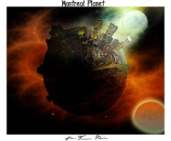 Montreal Planet by d1rtyw0rm