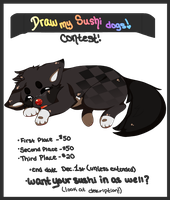 Sushi Dog Contest! - [PRIZES FIXED] by Lacrirosa