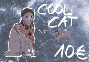 Cool Cat Adopt TAKEN by Madlaid