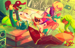 hanging out by jununy