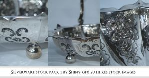 Silverware stock pack 1 by The-Average-Alex