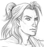 Bishonen Thunder god by Doublevisionary