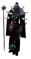 drow priestess png by epicgenerator